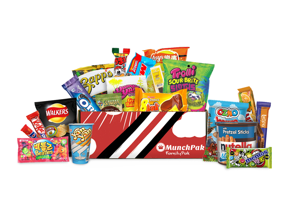 MunchPak subscription boxes