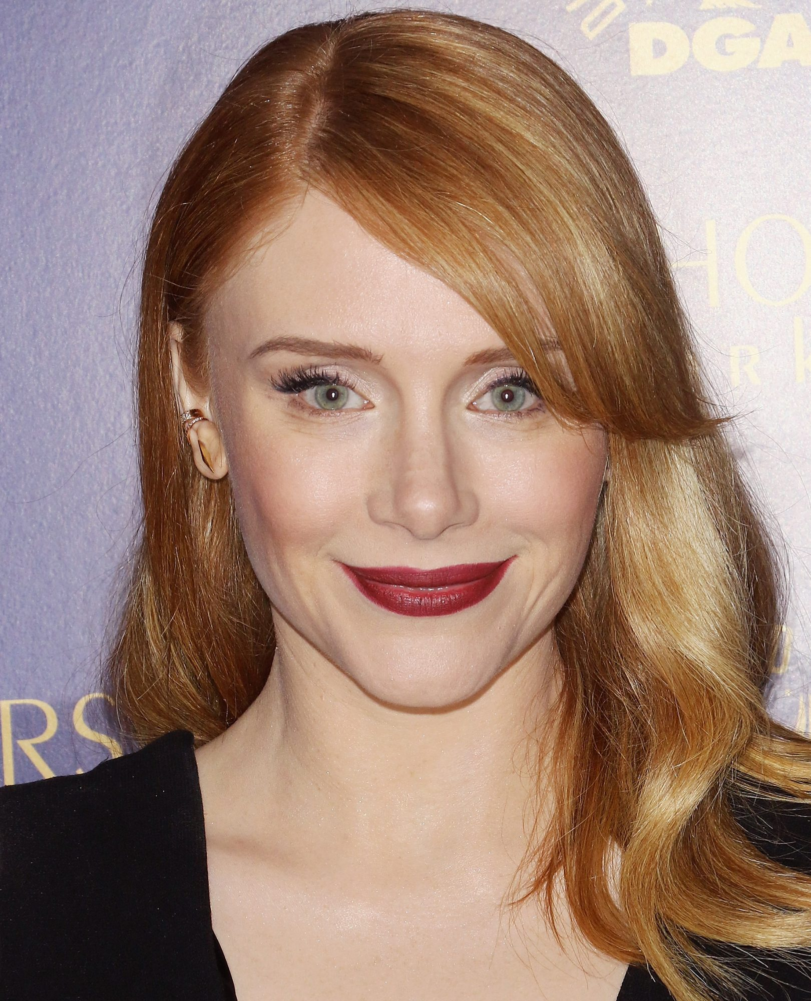 Bryce Dallas Howard's Oxblood Lip