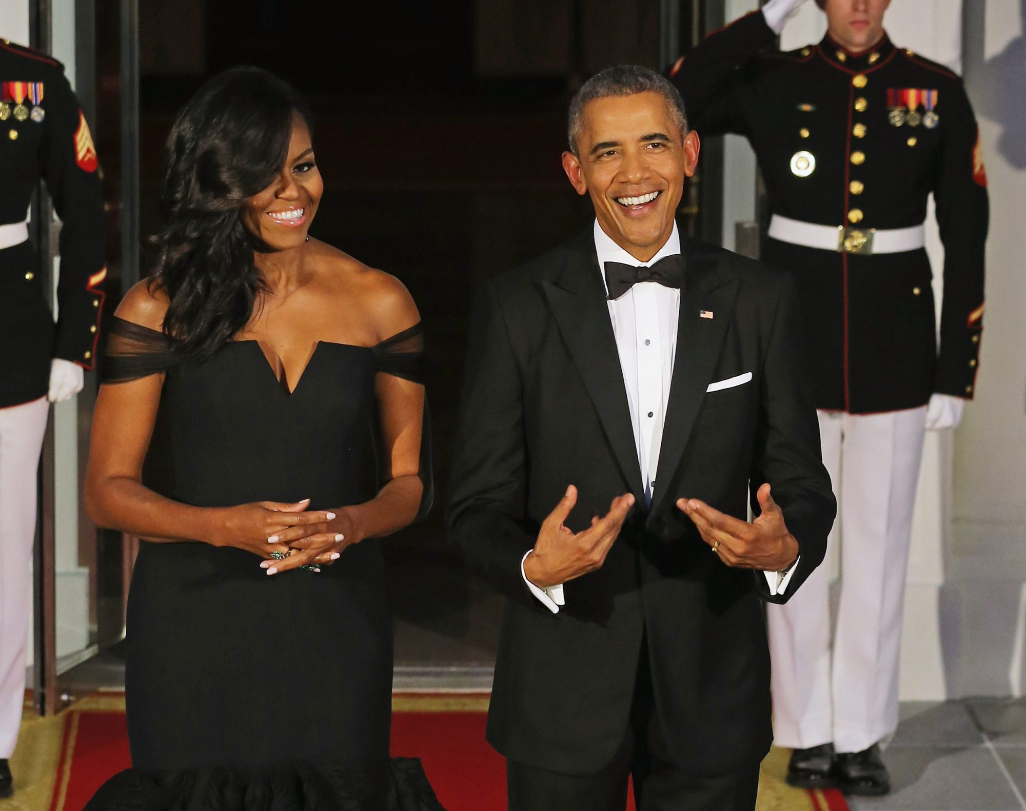 Michelle and Barack Obama Reveal Their Favorite Song, TV Show, and Movie of 2015