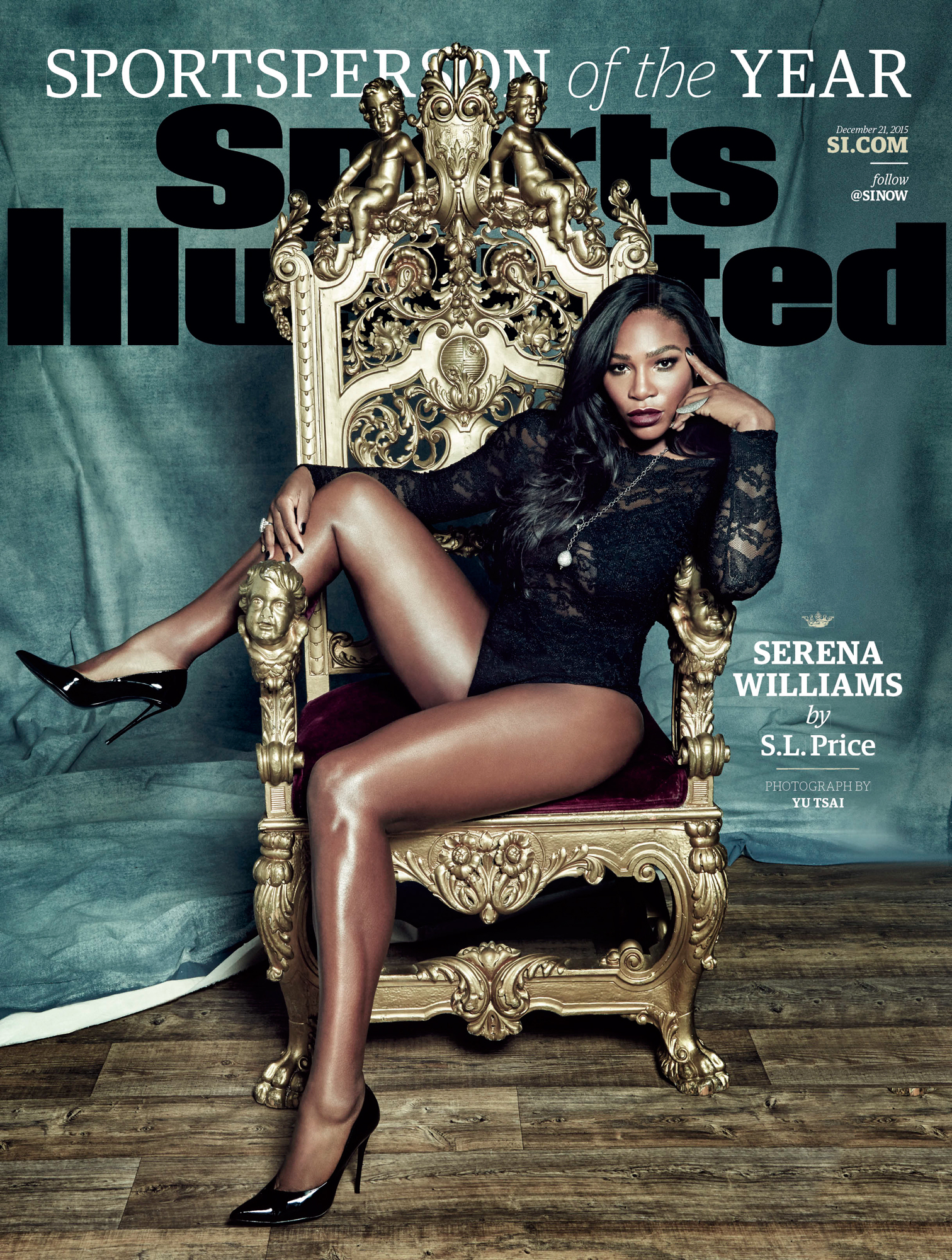 Serena Williams - Sports Illustrated Cover