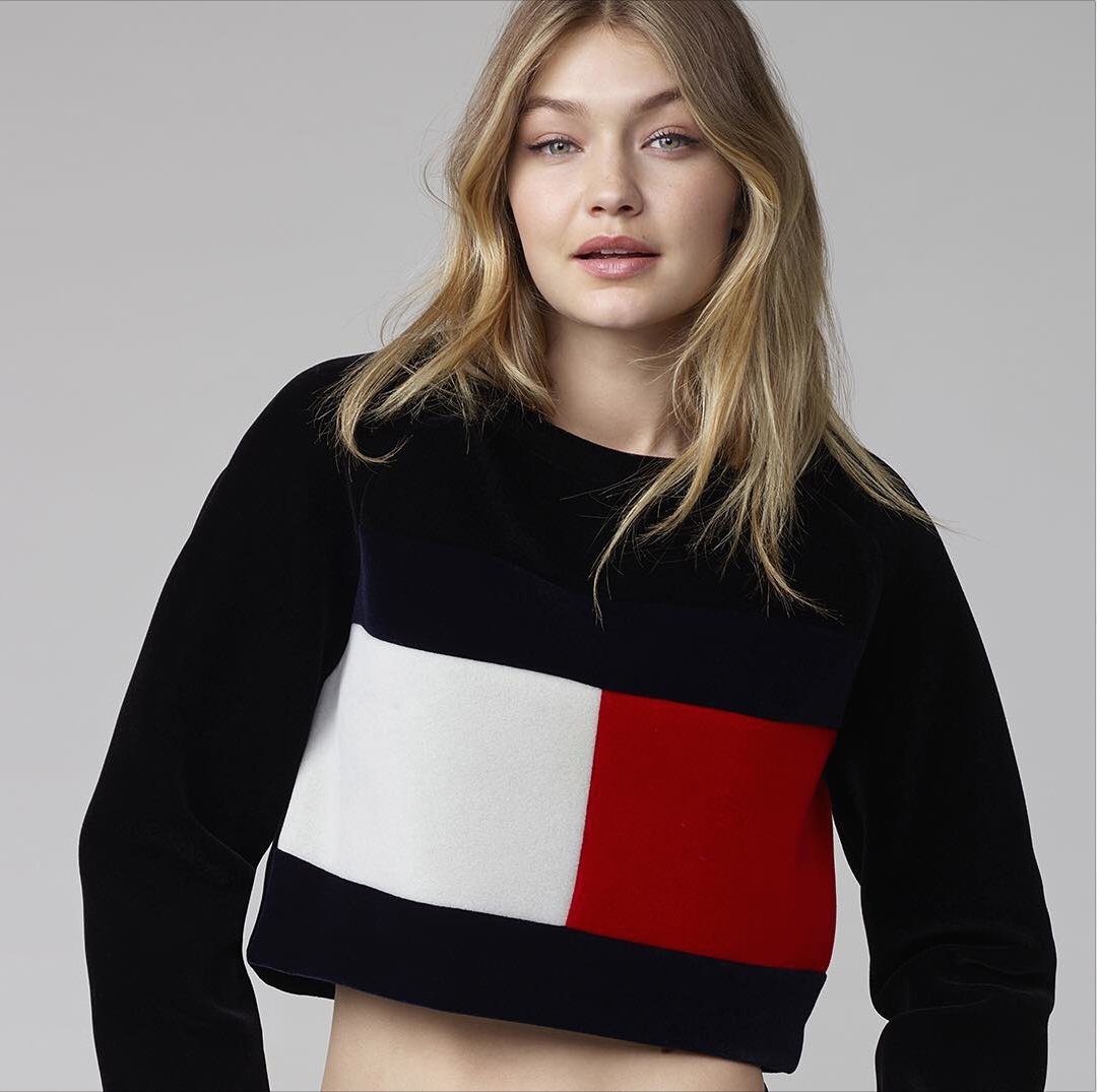 Gigi Hadid to Launch a Capsule Collection (and New Fragrance) with Tommy Hilfiger