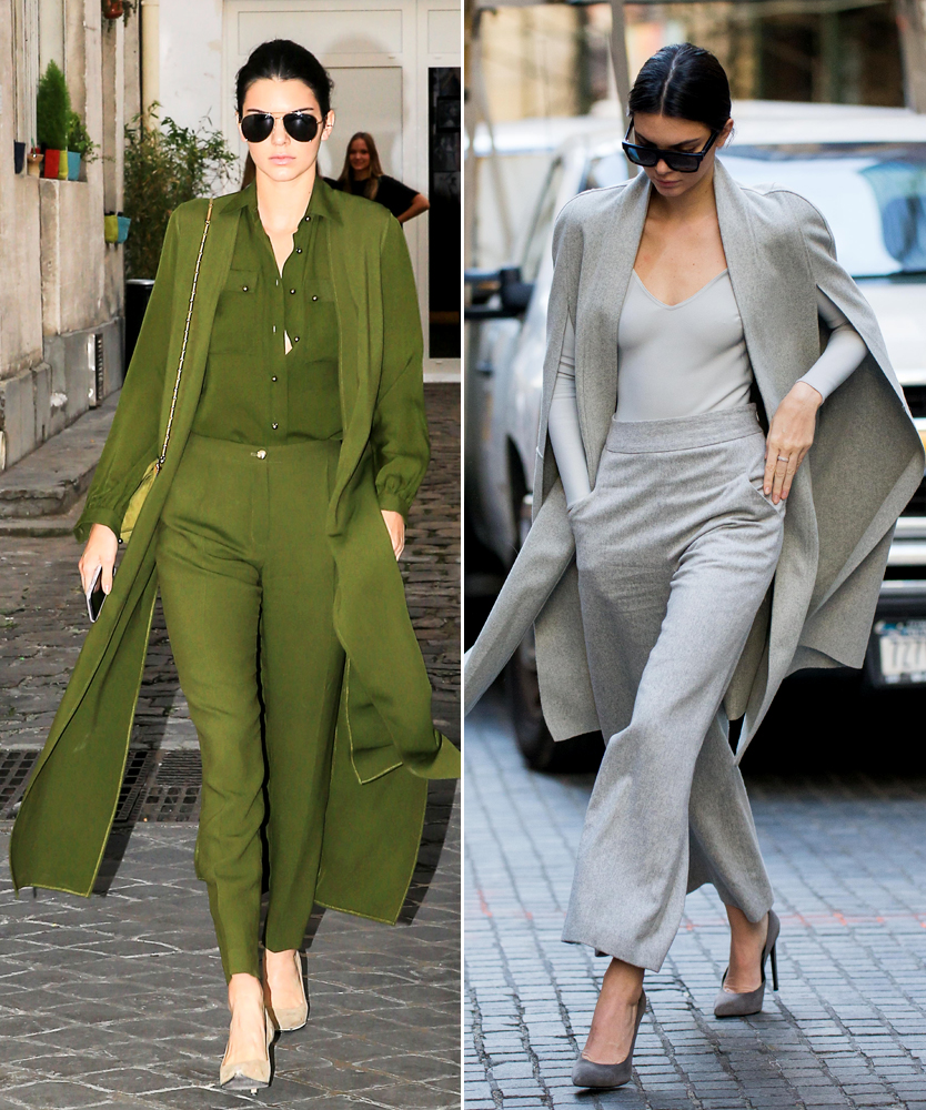 How To Master Monochrome Looks Like Kendall Jenner - Kendall Jenner Style