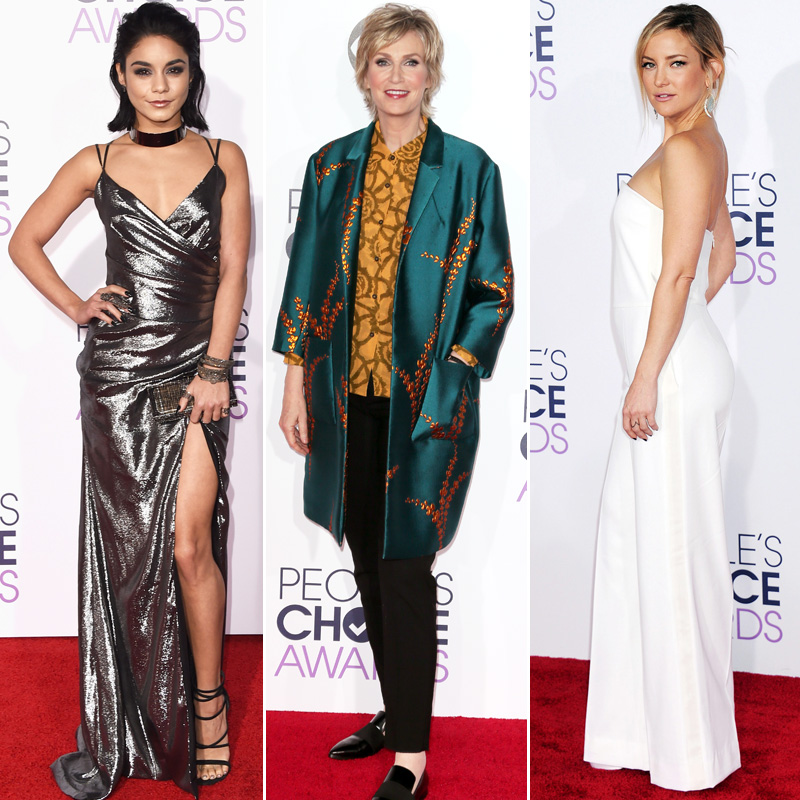 See All the Best Looks from the 2016 People's Choice Awards Red Carpet