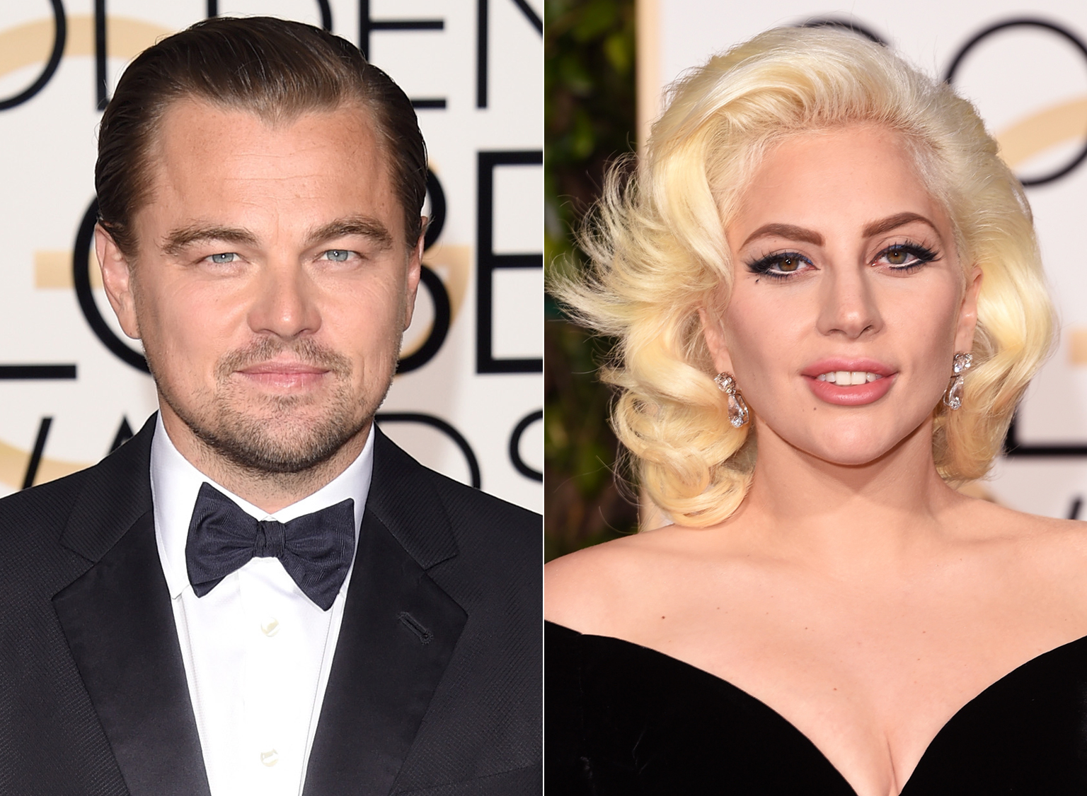 Leonardo DiCaprio Explains That Awkward Golden Globes Side-Eye Moment with Lady Gaga