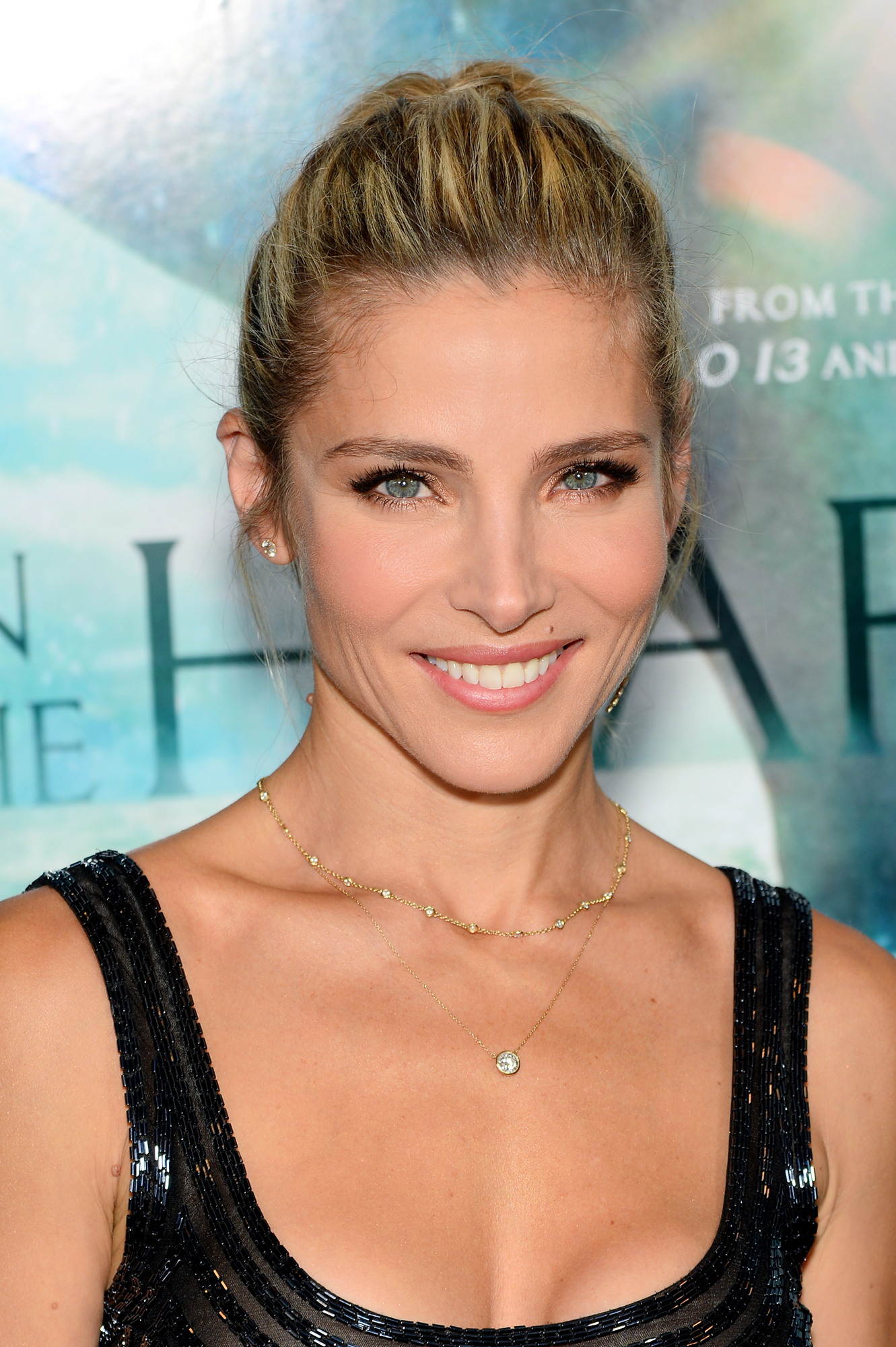 The 41-year old daughter of father José Francisco Lafuente and mother Cristina Pataky Medianu, 162 cm tall Elsa Pataky in 2018 photo