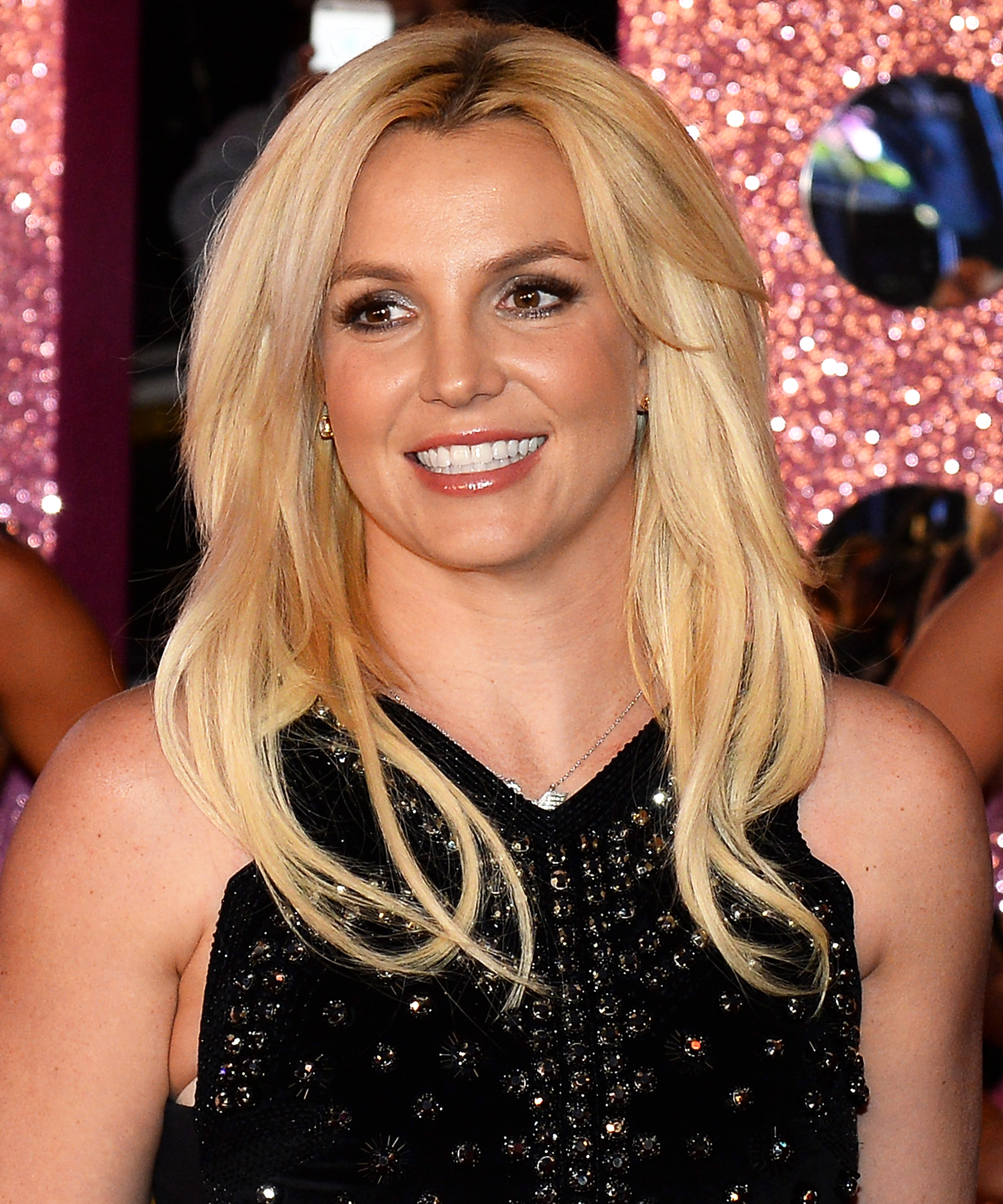 Britney Spears Shows Off Her Painting Skills While Wearing a Midriff-Baring Top
