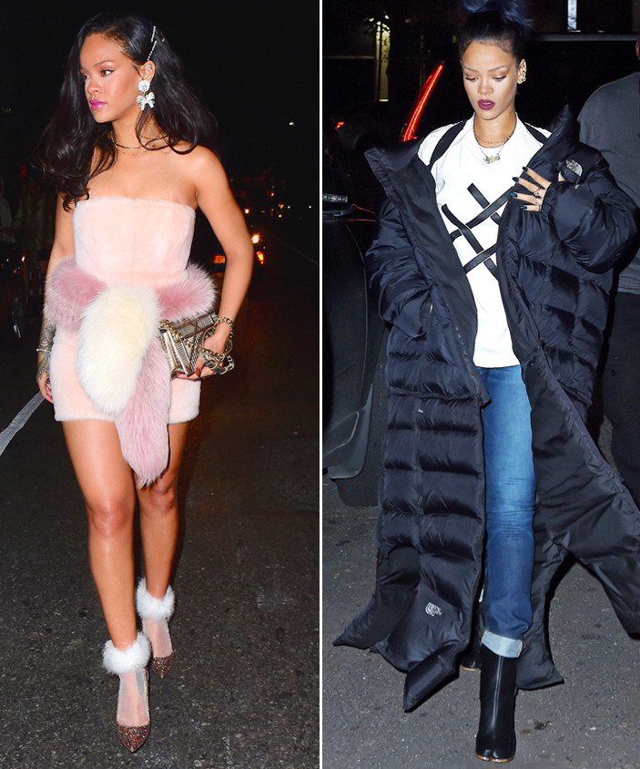 What to Wear to the Club? Get 17 Outfit Ideas from Rihanna