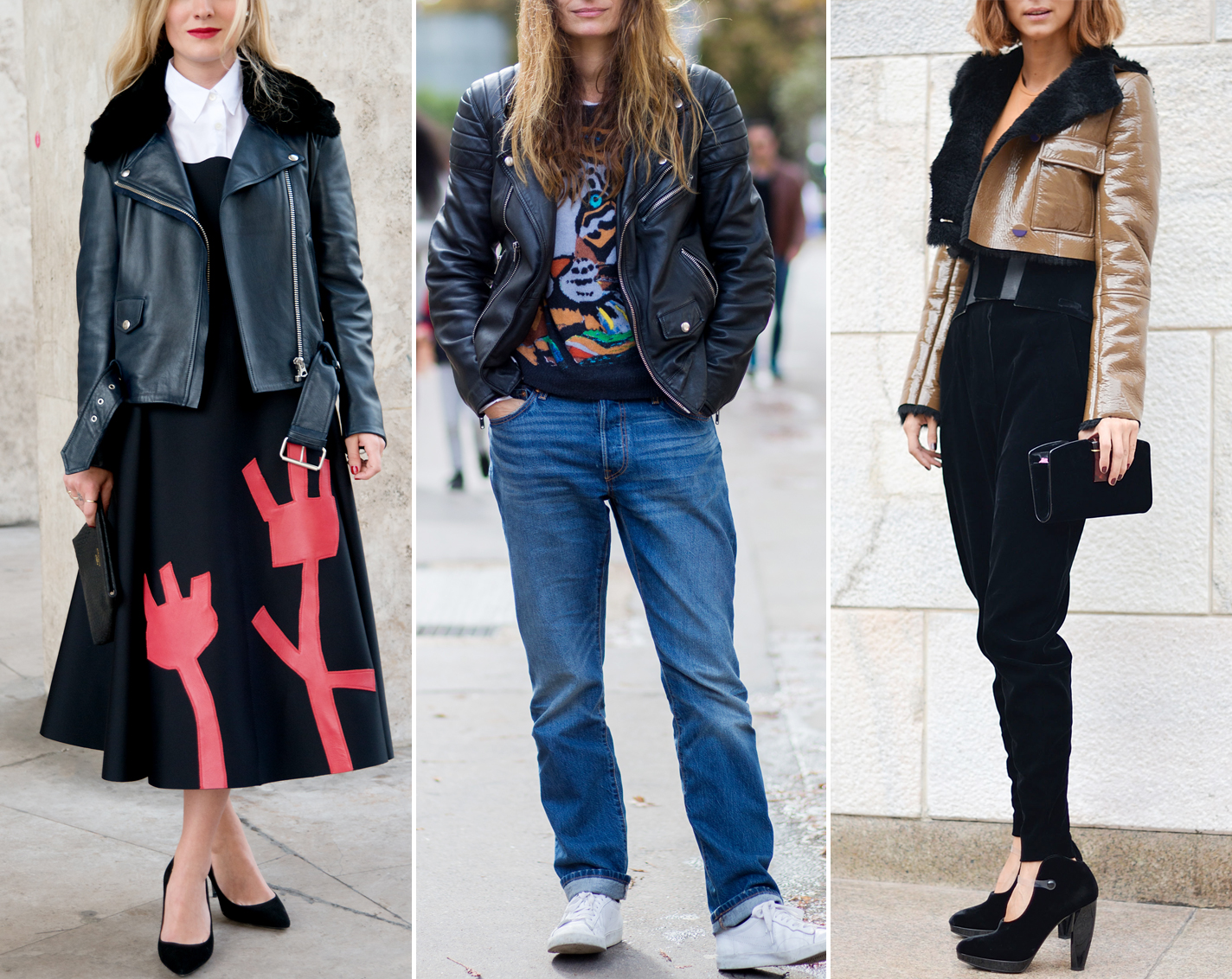 ae21588740 8 Intriguing Ways to Wear a Leather Jacket