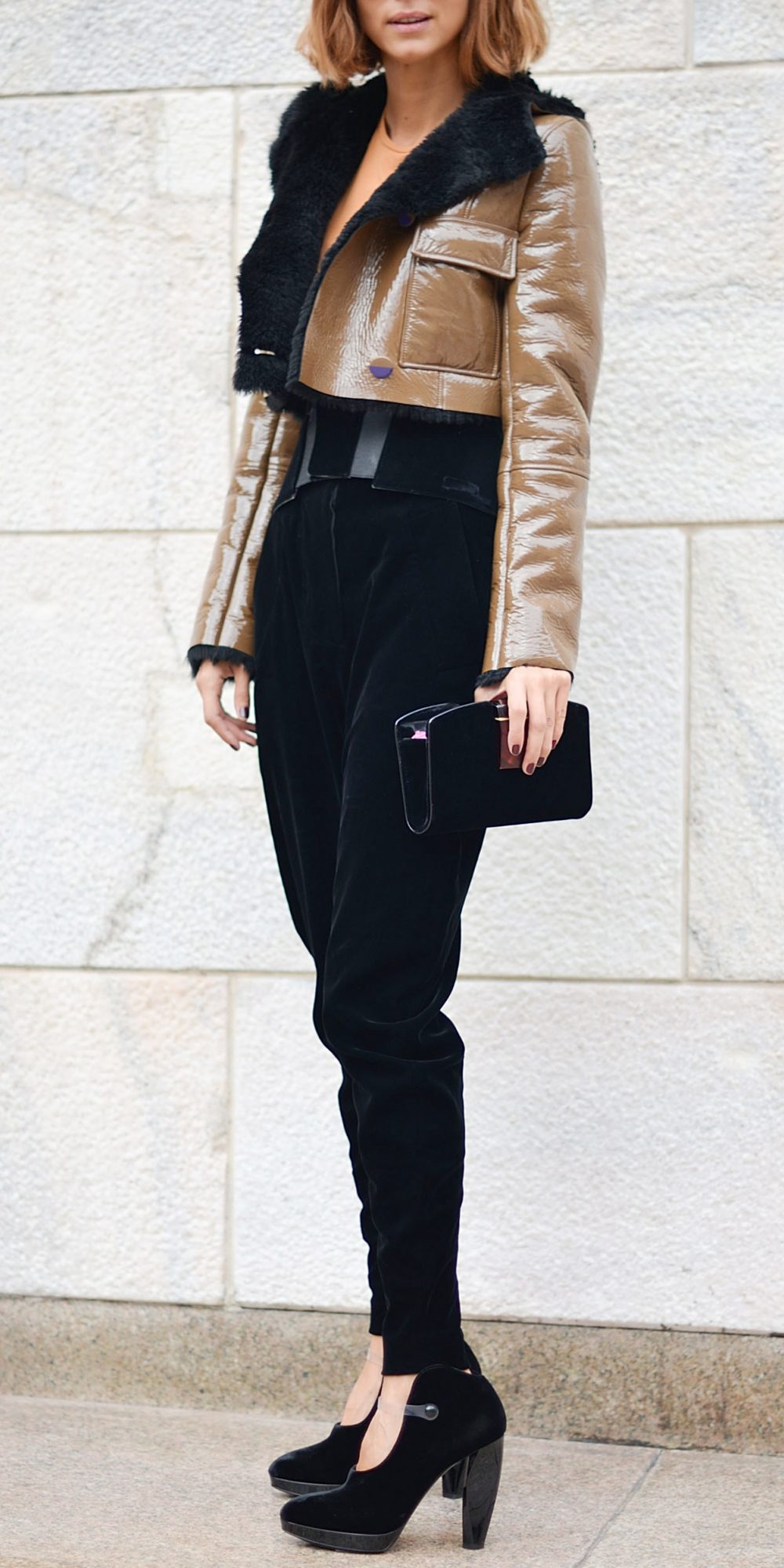 a9c9f70110 How to Wear a Leather Jacket | InStyle.com