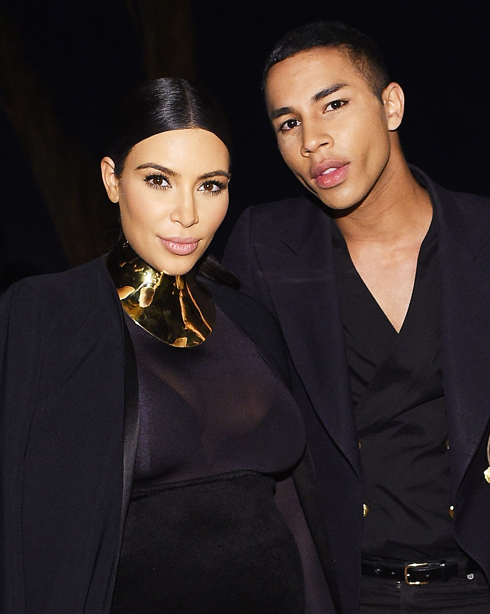 Balmain's Olivier Rousteing Will Design Exclusive Pieces for Kim Kardashian's Mobile Game