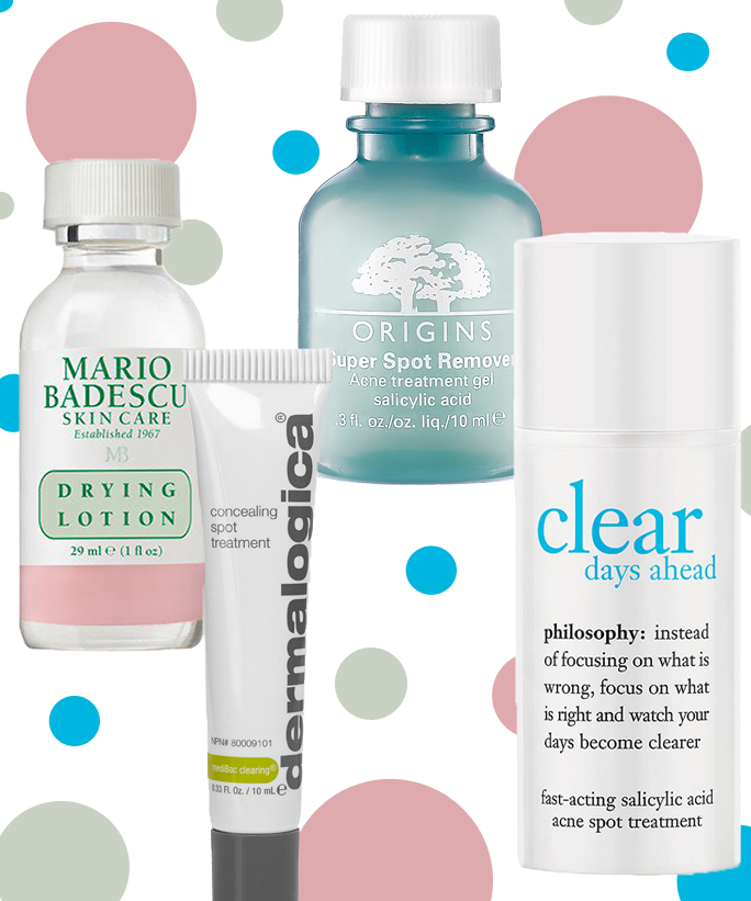 Acne Spot Treatments That Won't Dry Out Your Skin