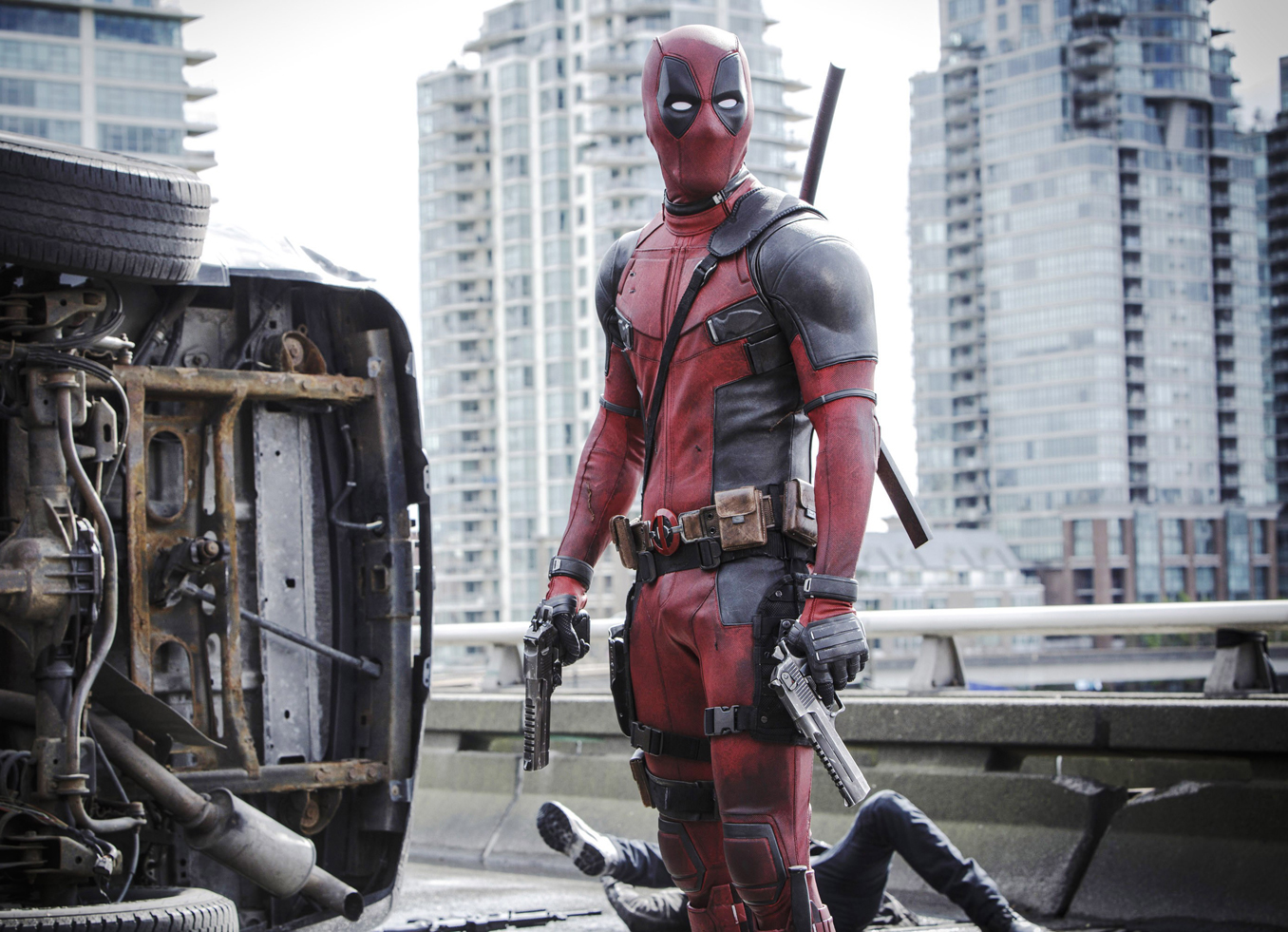 "같이 Wade Wilson/Deadpool in <em>데드 풀,</em> 2016 년<br/>""></div></div></div><div class="