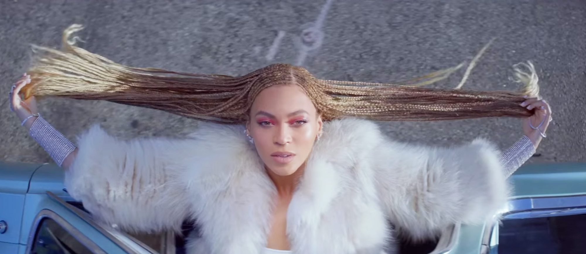 """Here's How Beyonce's Stylist Keeps Her Hair in """"Formation""""—See All the Music Video Looks!"""