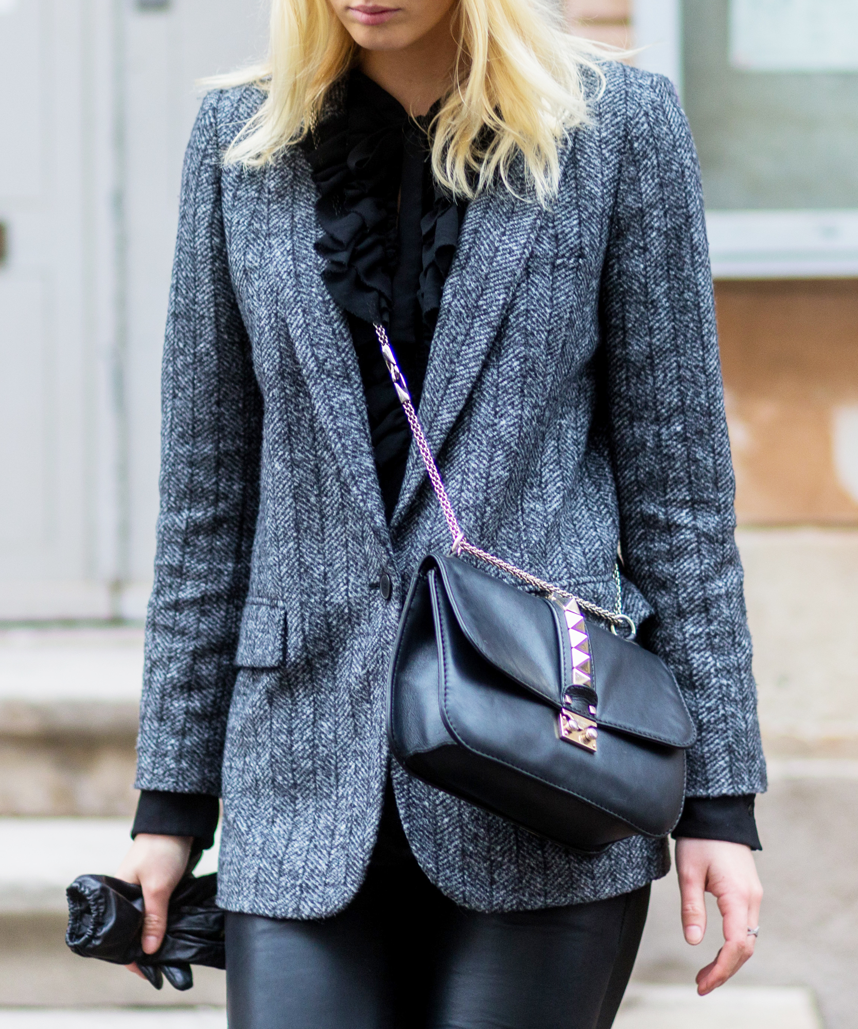 How to Wear a Blazer Like a Street Style Star