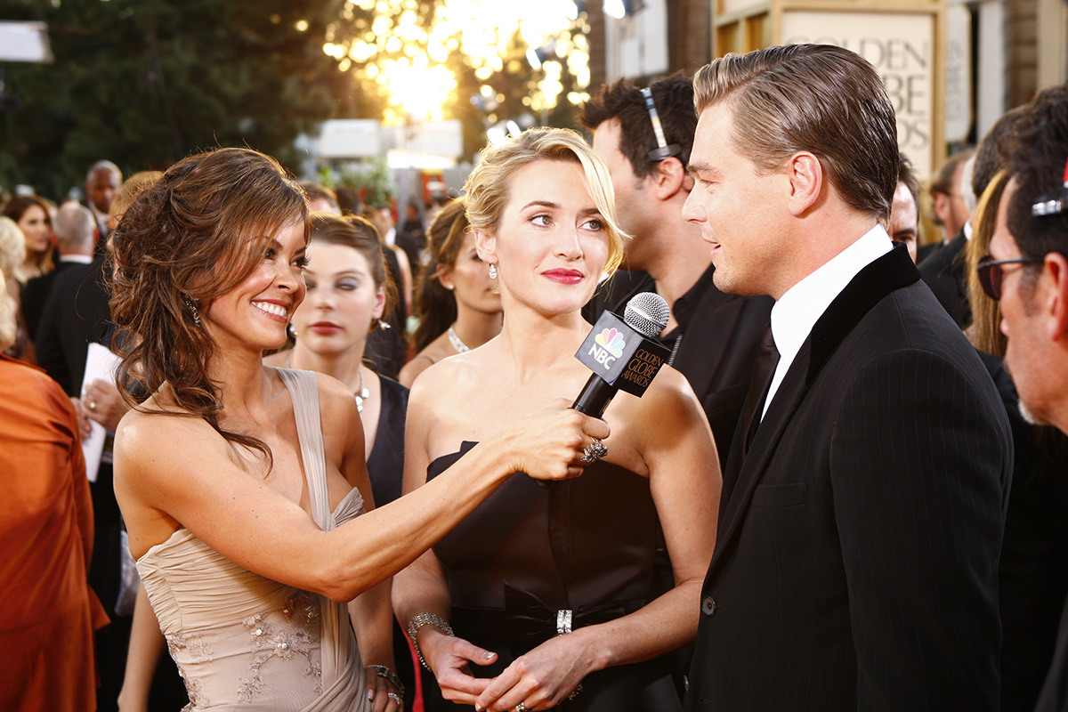 Kate and Leo at the 2009 Golden Globes