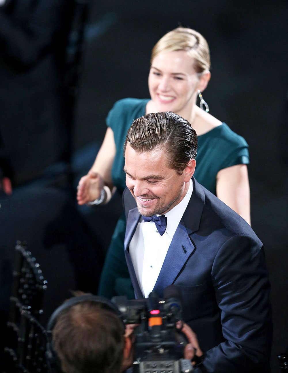 kate winslet and leonardo dicaprios cutest red carpet