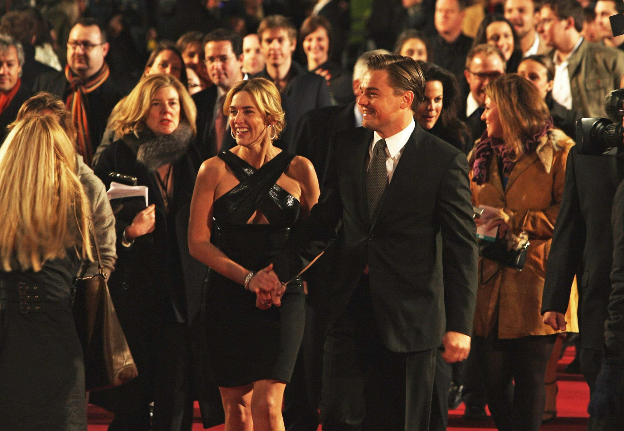 <p>Kate and Leo at the London Premiere of <em>Revolutionary Road</em></p>