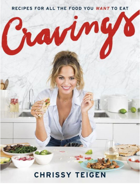 Chrissy Teigen - Cravings Cookbook - Embed 1