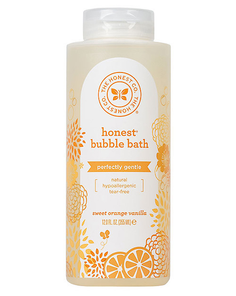 The Honest Company Gentle Sweet Orange Vanilla Bubble Bath