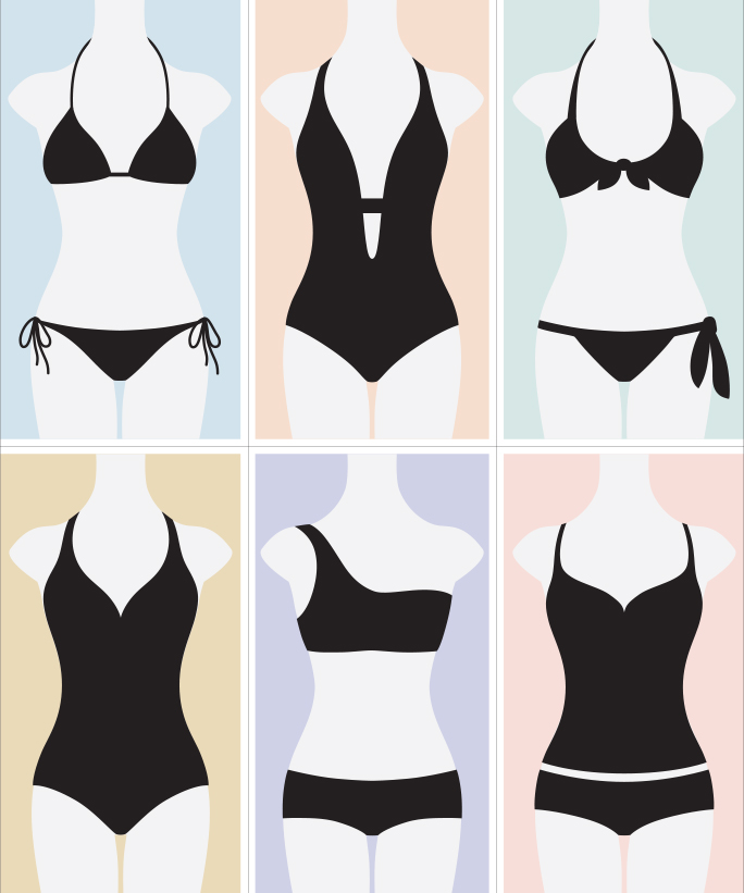 How to Find the Most Flattering Swimsuit‎ for Your Body Type