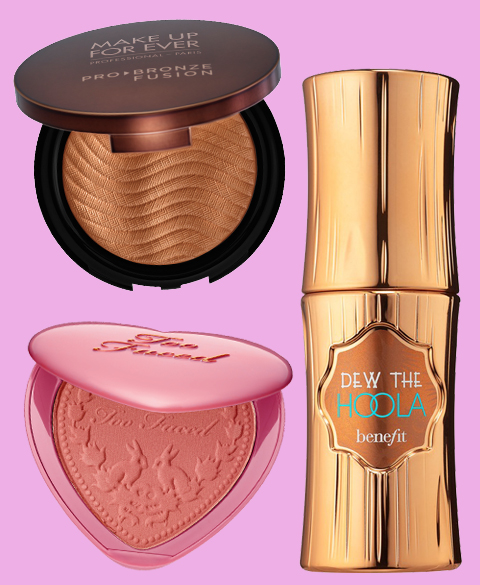<p>Blushes and Bronzers</p>