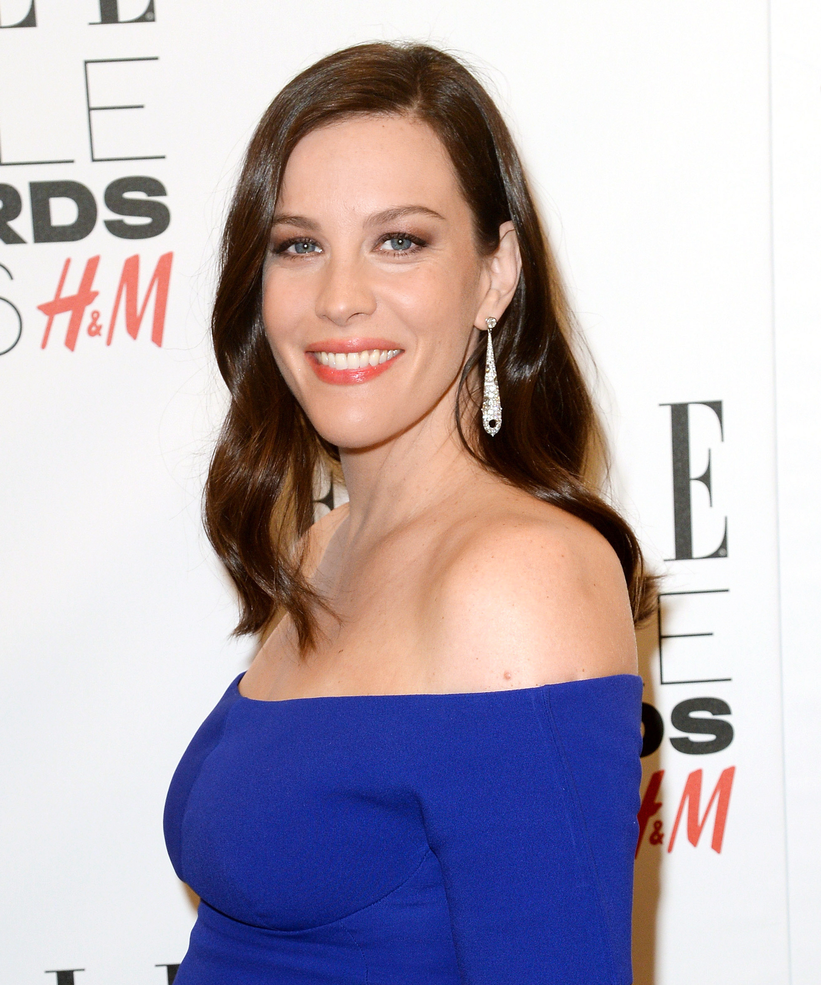 Liv Tyler attends The Elle Style Awards 2016 on February 23, 2016 in London, England.