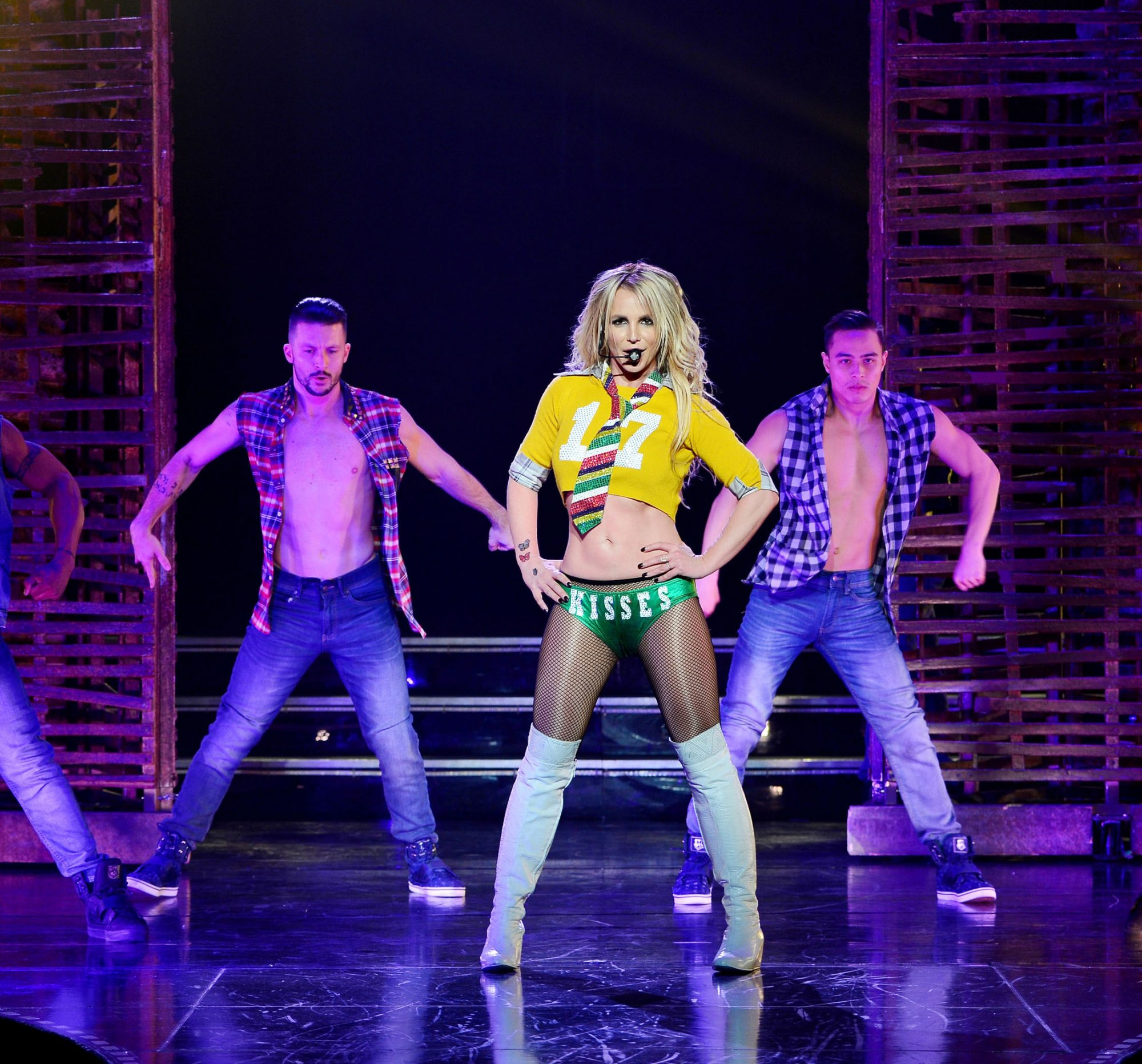 See Three Sexy New Costumes from Britney Spears's <em>Piece of Me</em> Las Vegas Residency Show