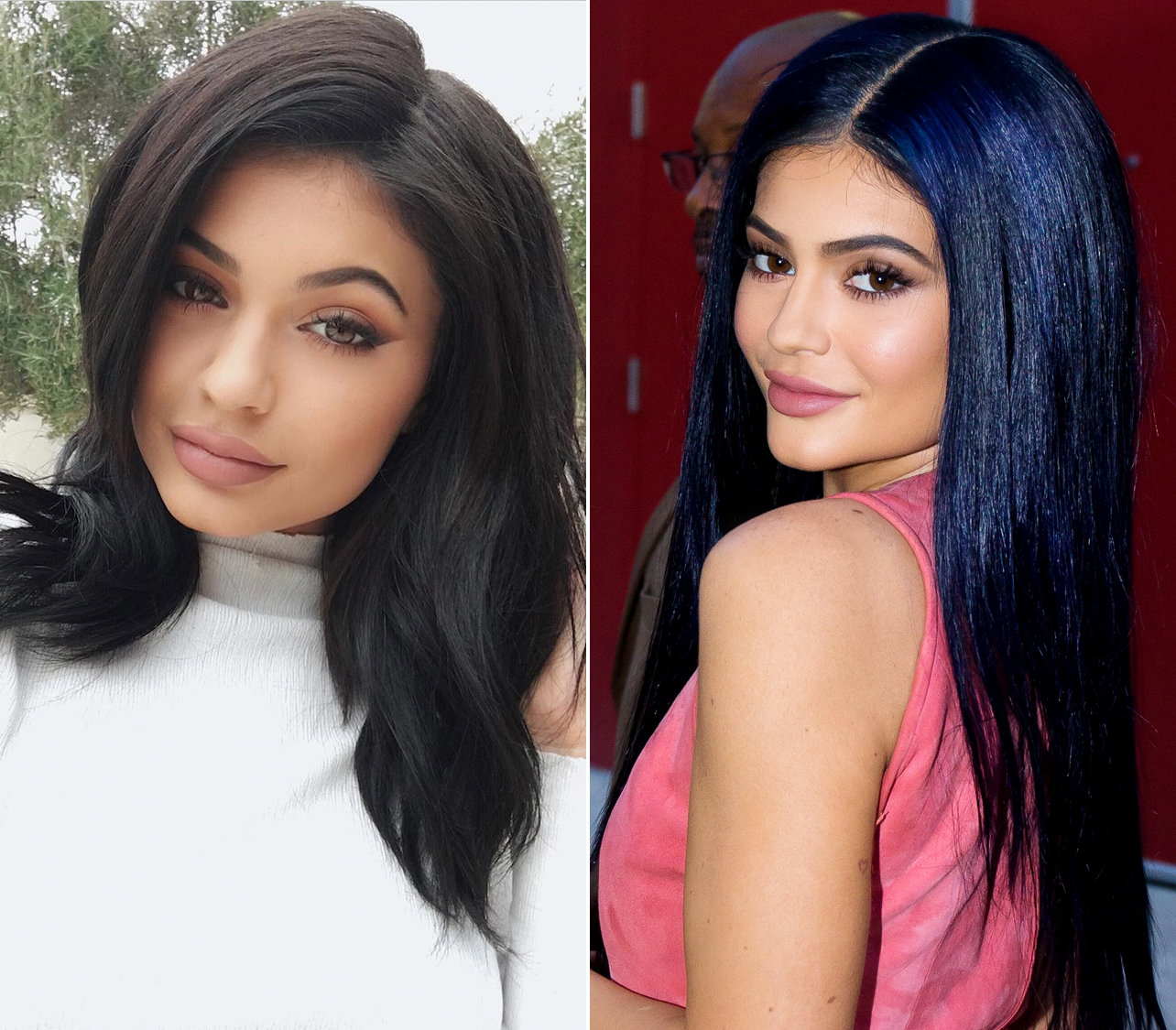 Kylie Jenner Has Navy Blue Hair Now Instyle