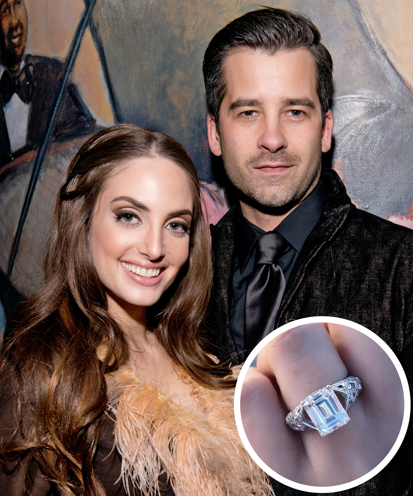 image who celebrity engagement expensive pinterest rings most