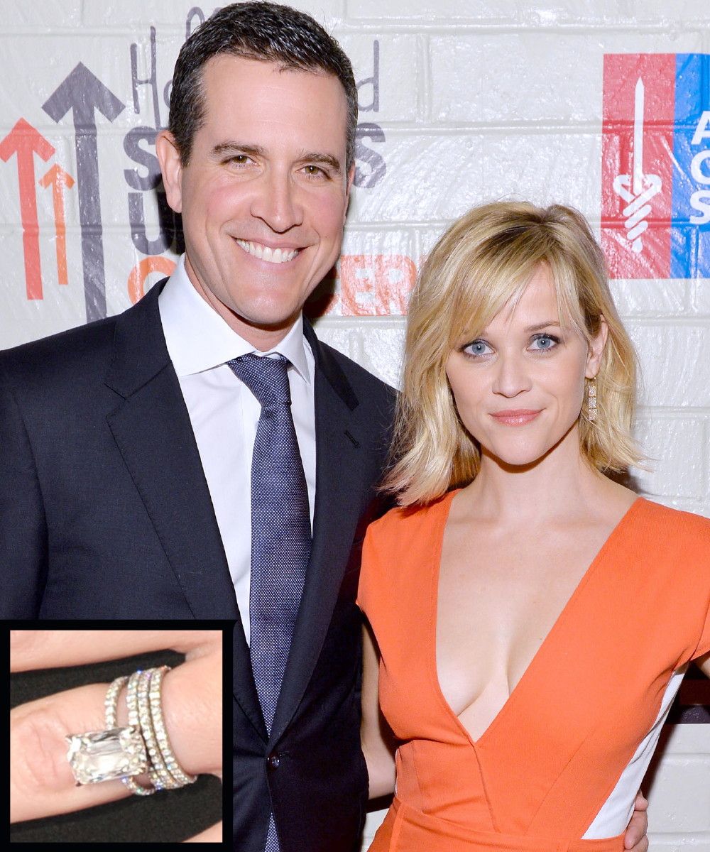 <p>Reese Witherspoon and Jim Toth</p>