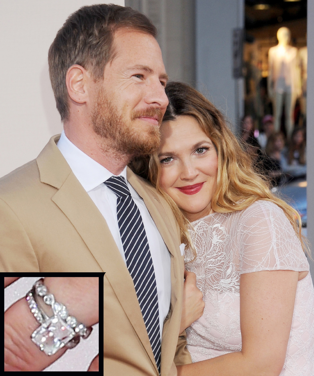 <p>Drew Barrymore and Will Kopelman</p>