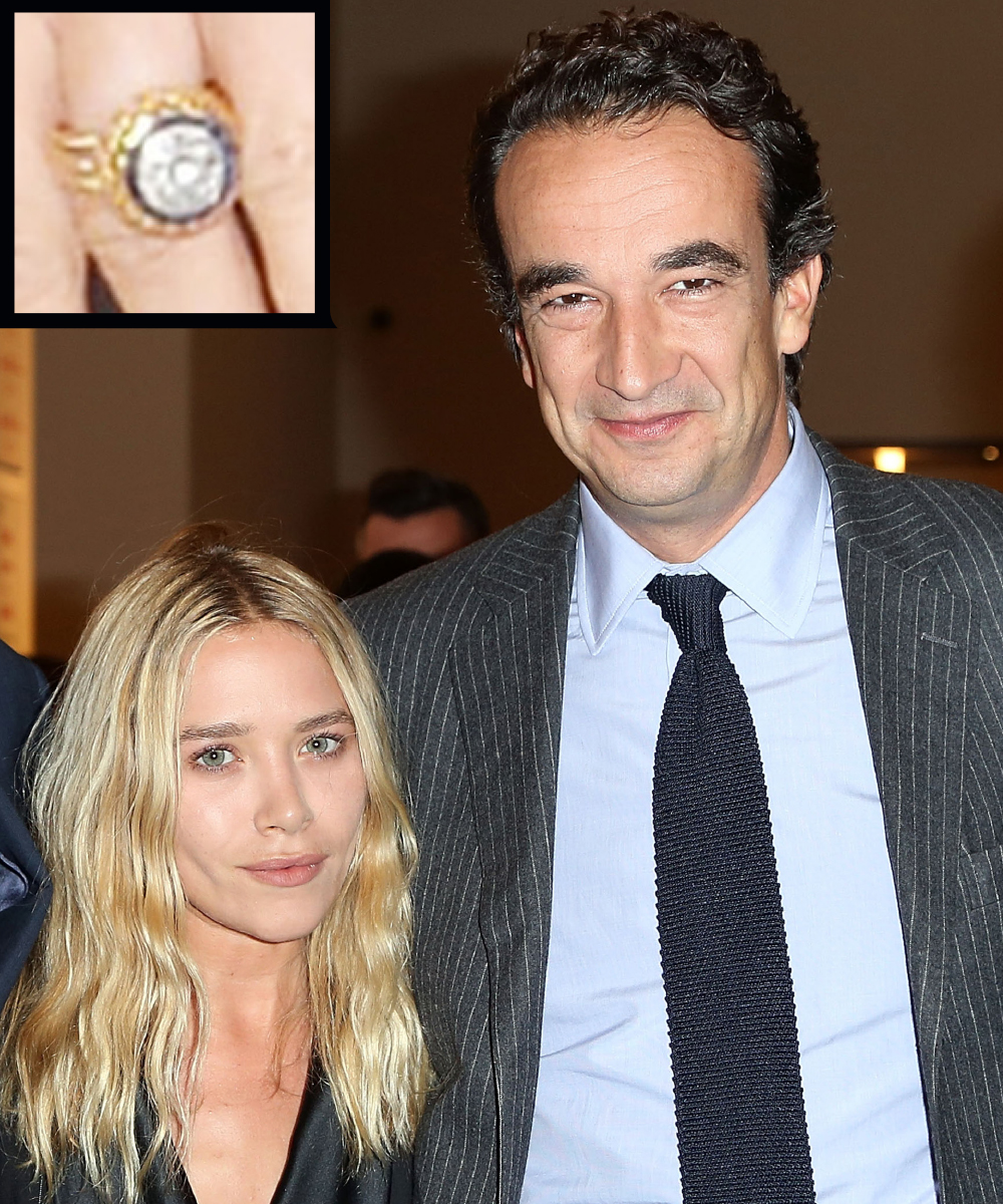 <p>Mary-Kate Olsen and Olivier Sarkozy</p>