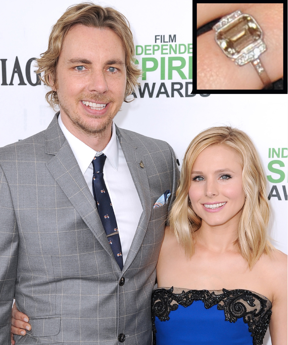 The Best Celebrity Engagement Rings InStylecom