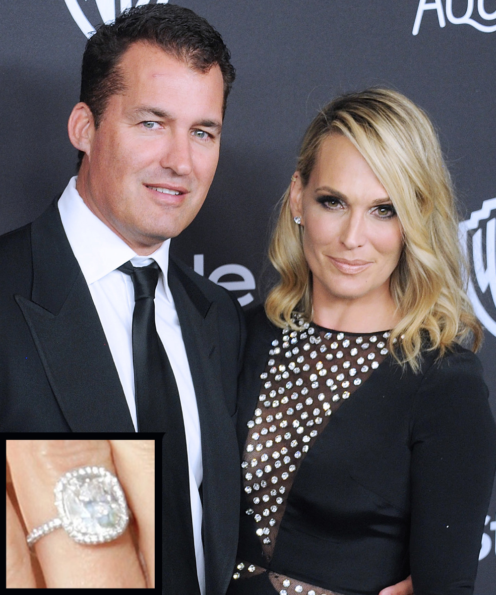 <p>Molly Sims and Scott Stuber</p>