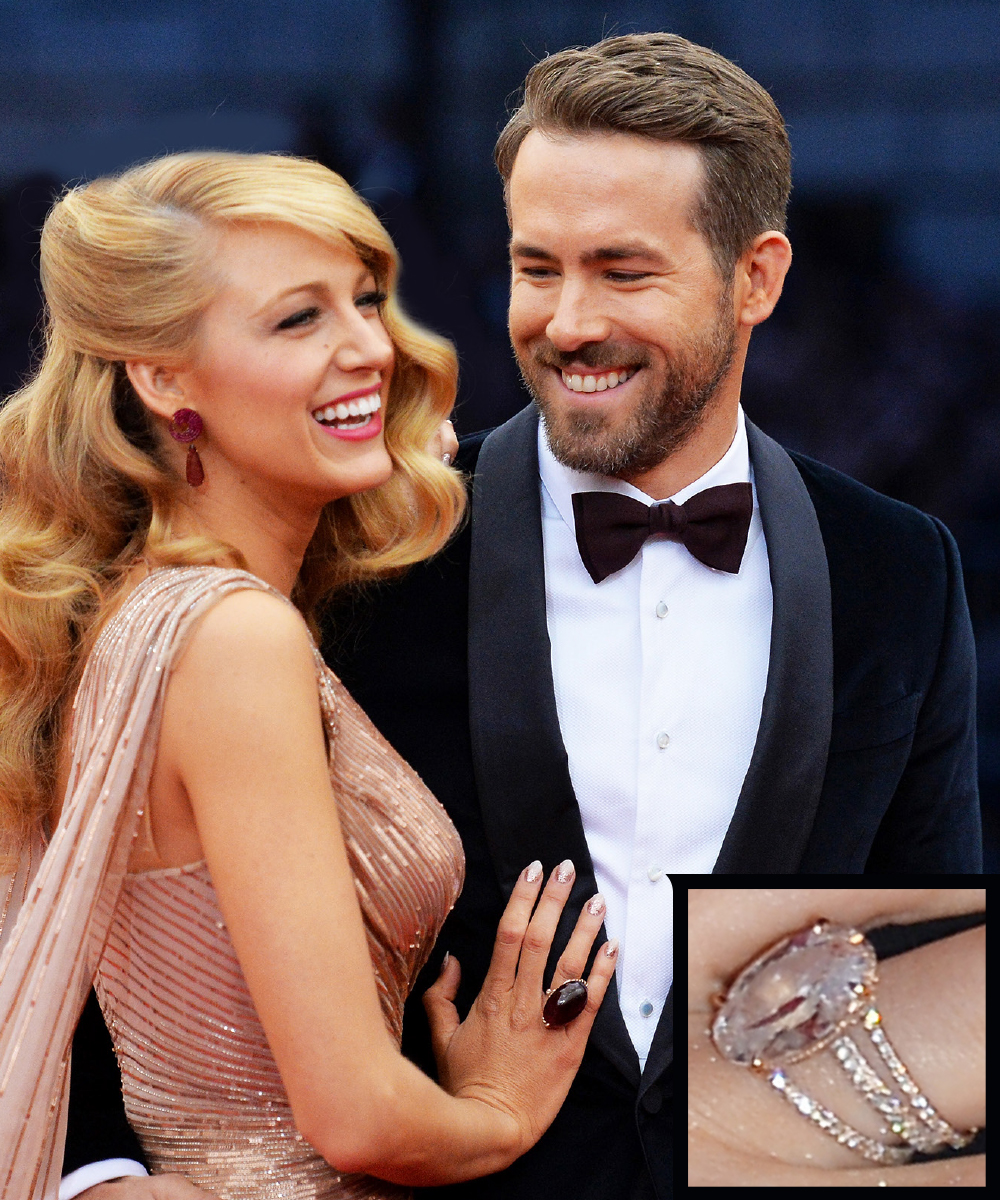 <p>Blake Lively and Ryan Reynolds</p>