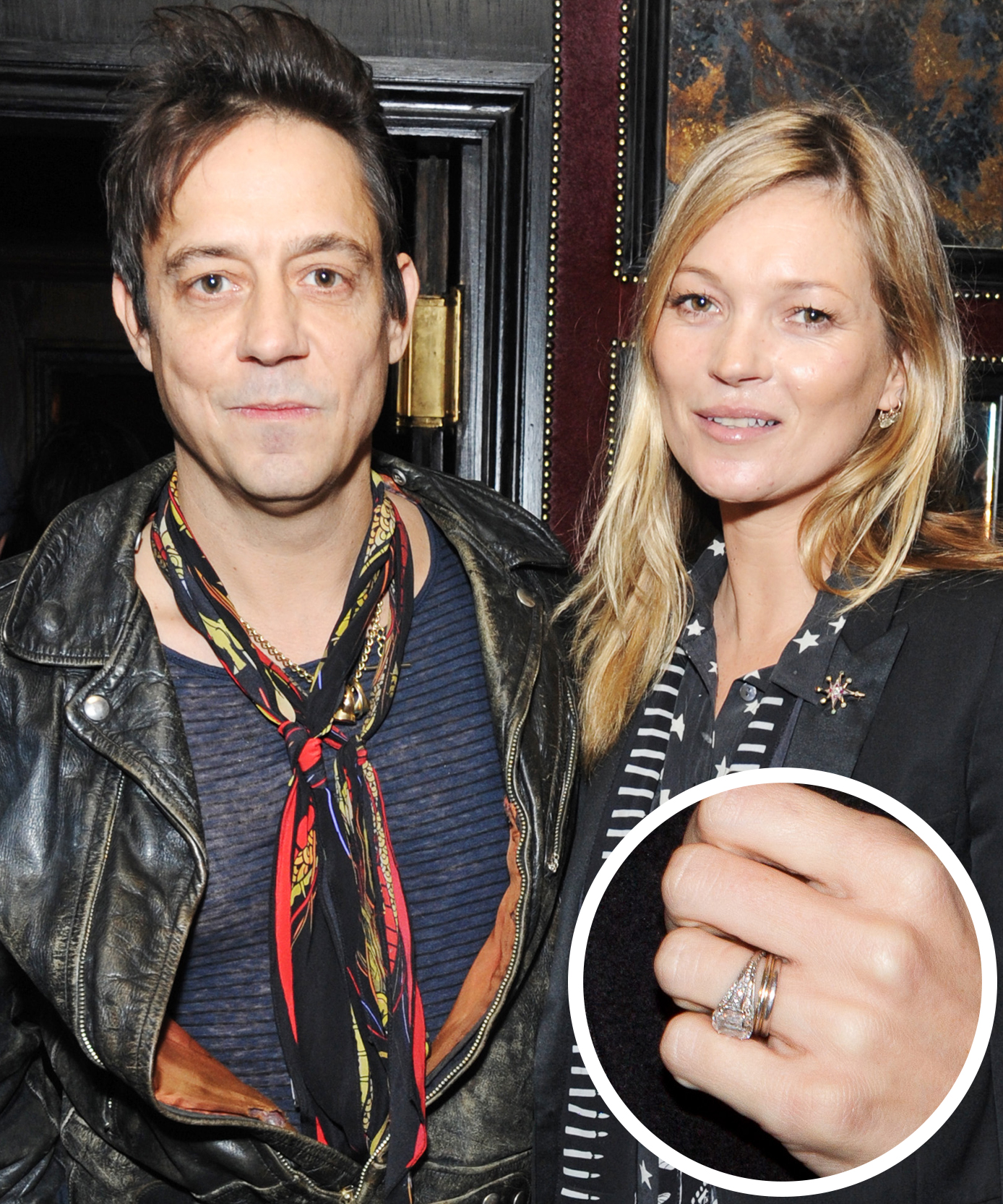 <p>Kate Moss and Jamie Hince</p>