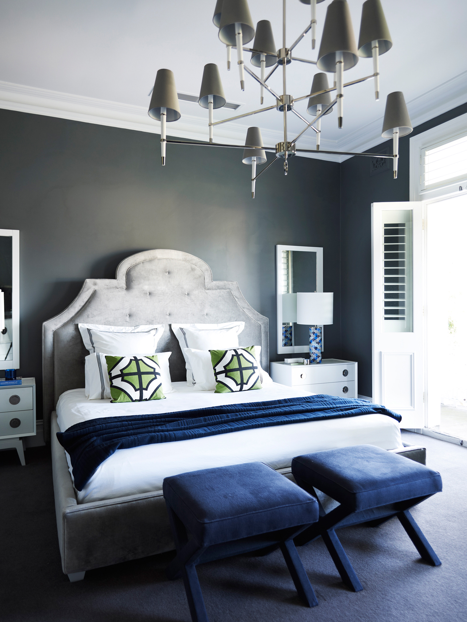 colors master bedrooms. Jonathan Adler s Favorite Color Combo Is Perfect for Your Bedroom Home Decor