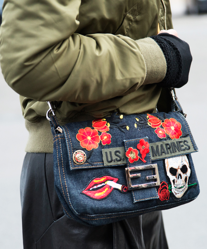 <p>Put Them on Your Purse</p>