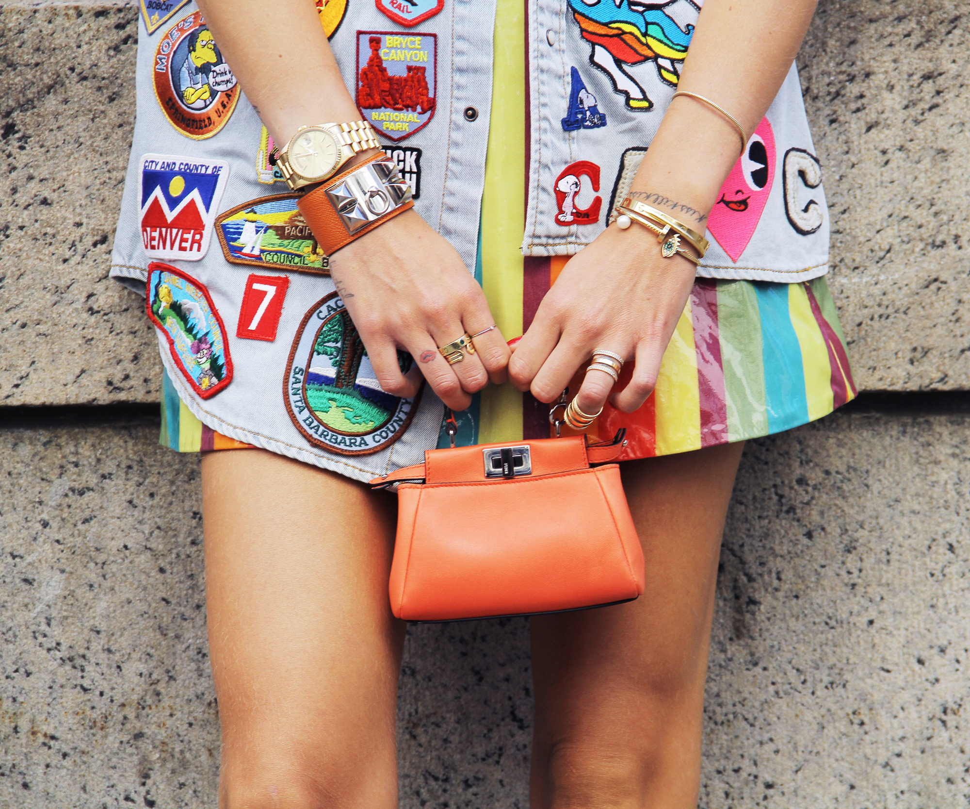 Where to Place Your Patches Like a Cool Girl