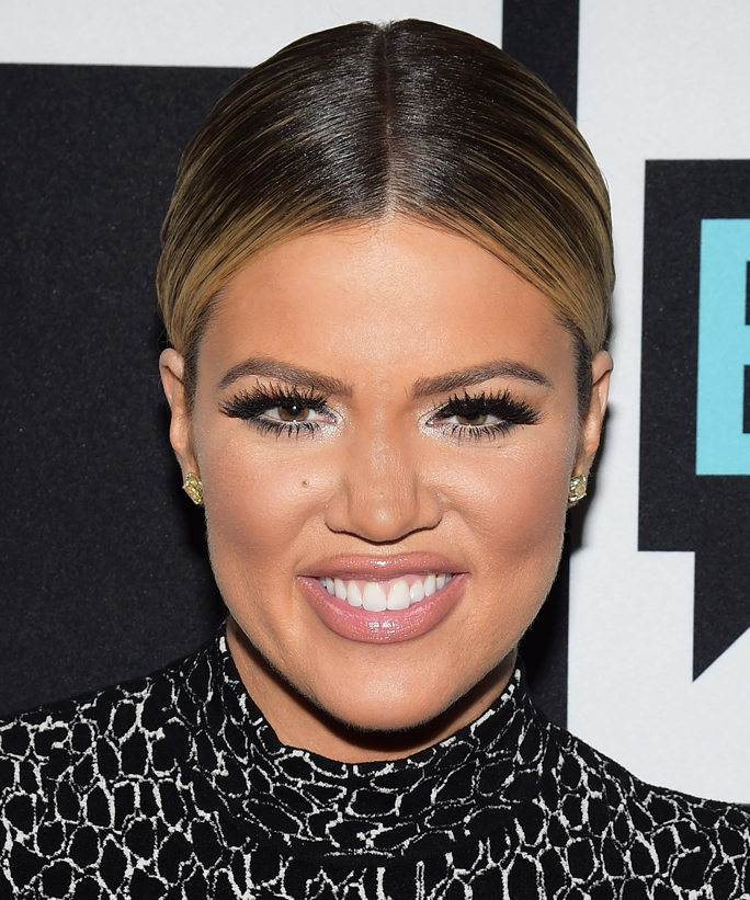 WATCH WHAT HAPPENS LIVE -- Pictured: Khloe Kardashian -- (Photo by: Charles Sykes/Bravo/NBCU Photo Bank via Getty Images)