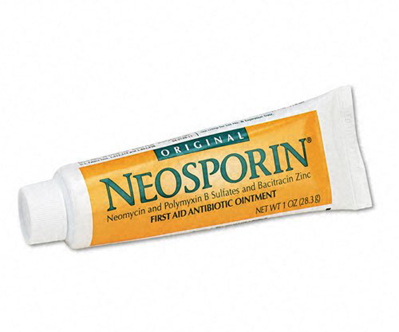 <p>Apply Neosporin</p>