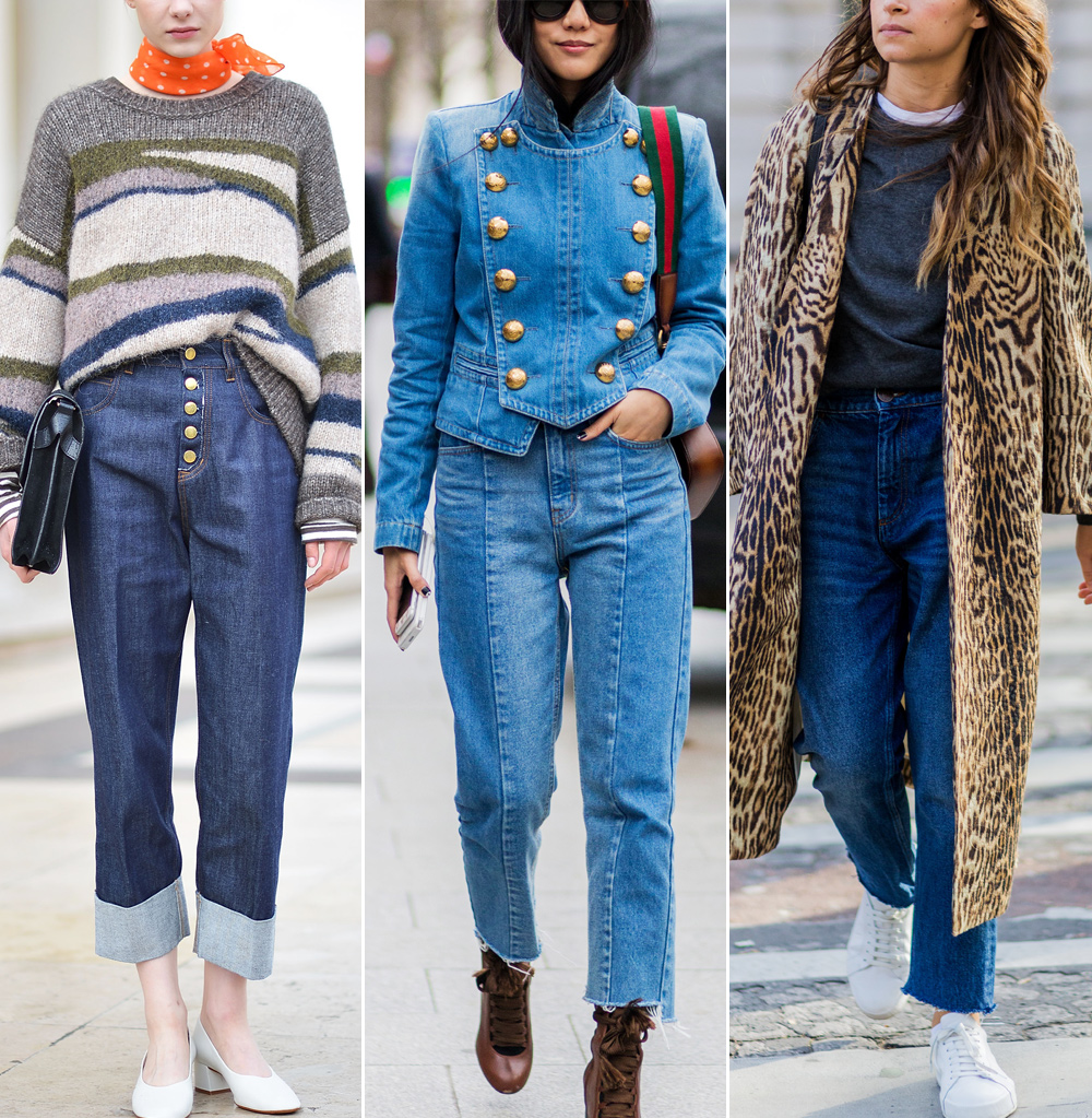 How to Wear Mom Jeans, High-Waist Jeans