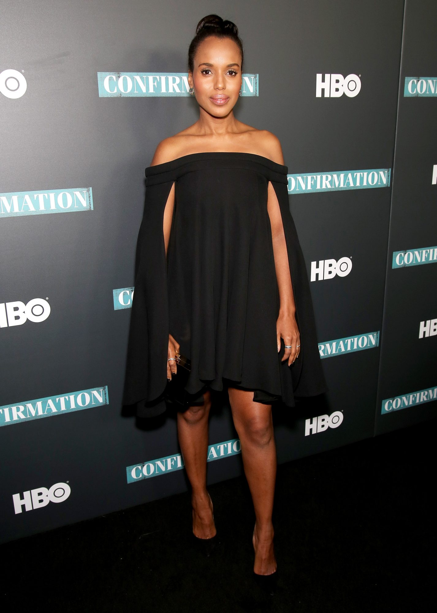 Kerry Washington Listens to Beyoncé and Rihanna to Feel Powerful