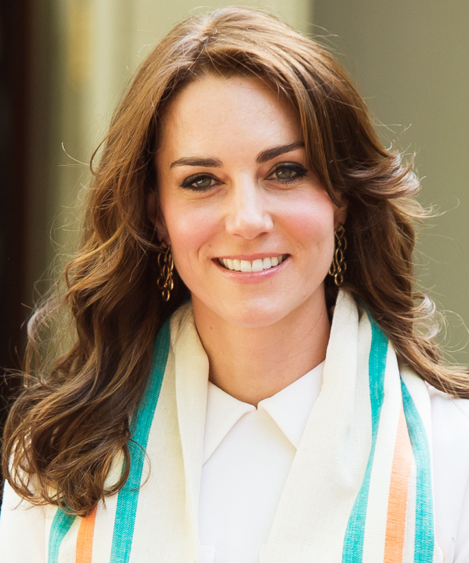 Surprising See Every Single Hairstyle Kate Middleton Wore On Her Trip To Short Hairstyles For Black Women Fulllsitofus