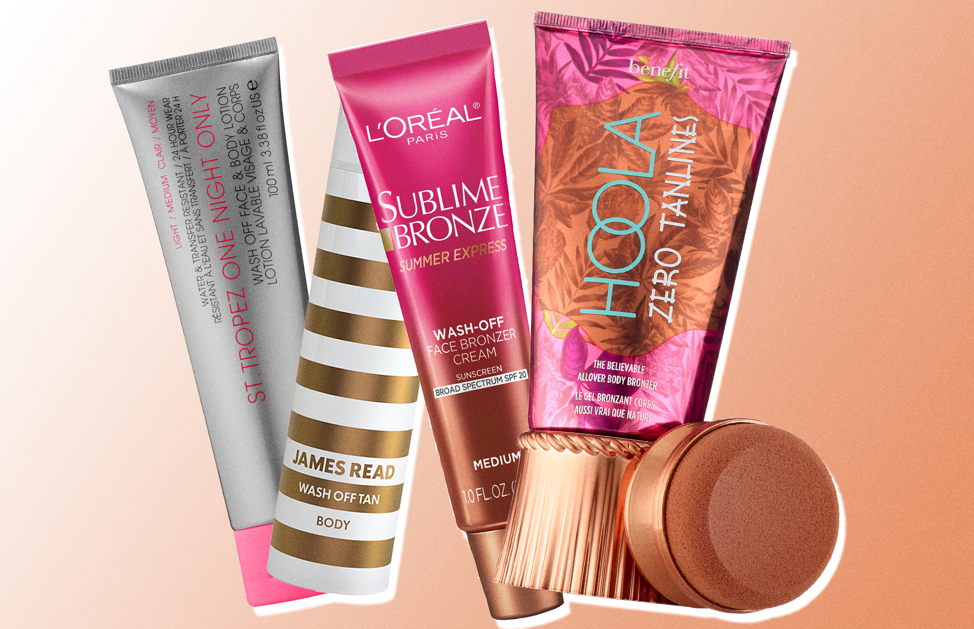 Wash-Off Self-Tanners for AllYour Temporary Tan Goals