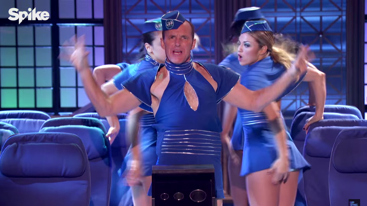 <em>Avengers</em> Star Clark Gregg's Performance of Britney Spears on <em>Lip Sync Battle </em>Looks Epic