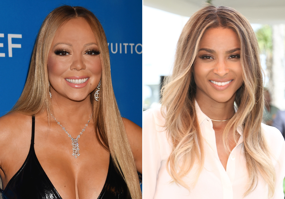 Ciara and Mariah Carey - Lead