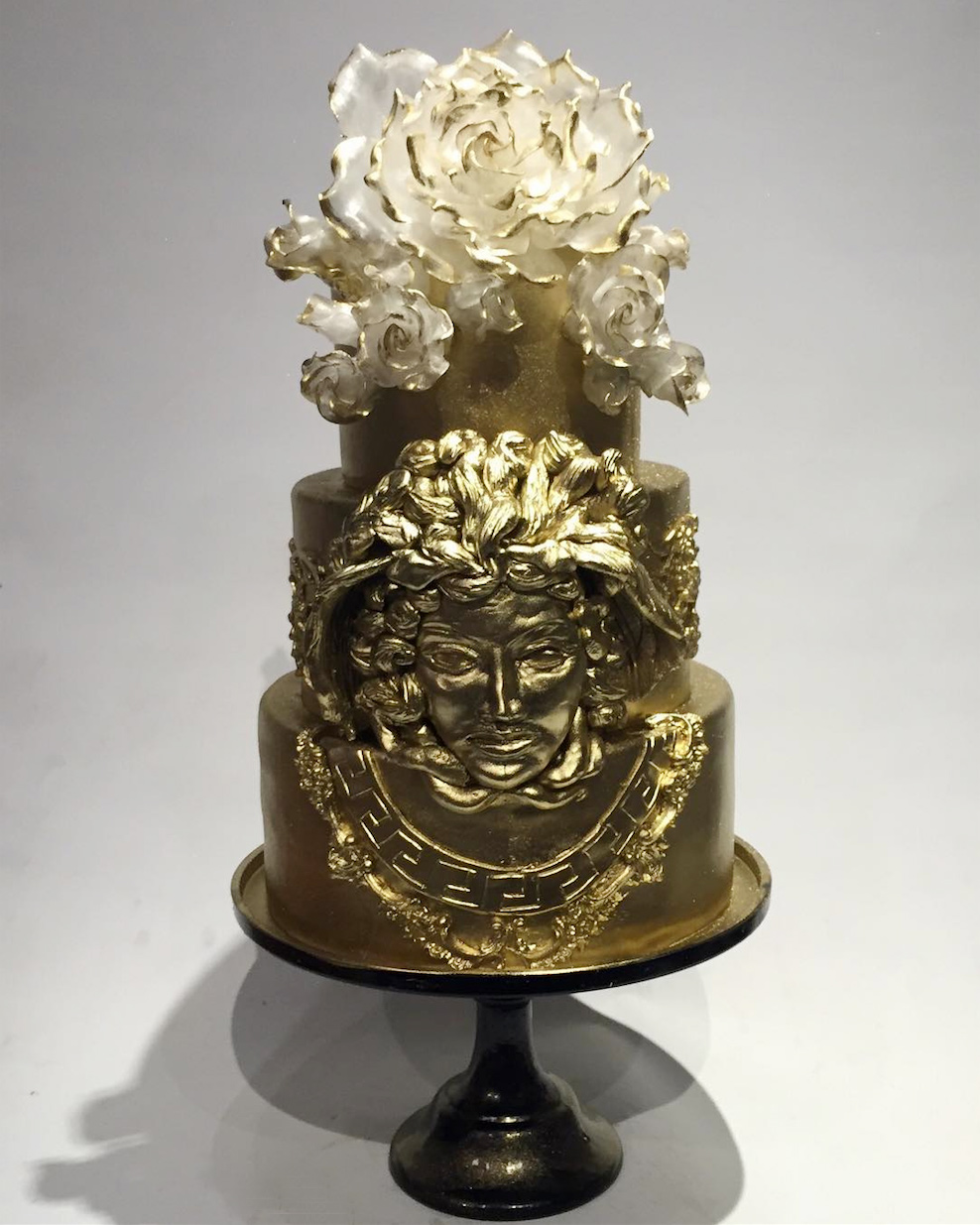 Lady Gaga Gifted This Super Glam Birthday Cake to One Lucky, Medusa-Loving Designer