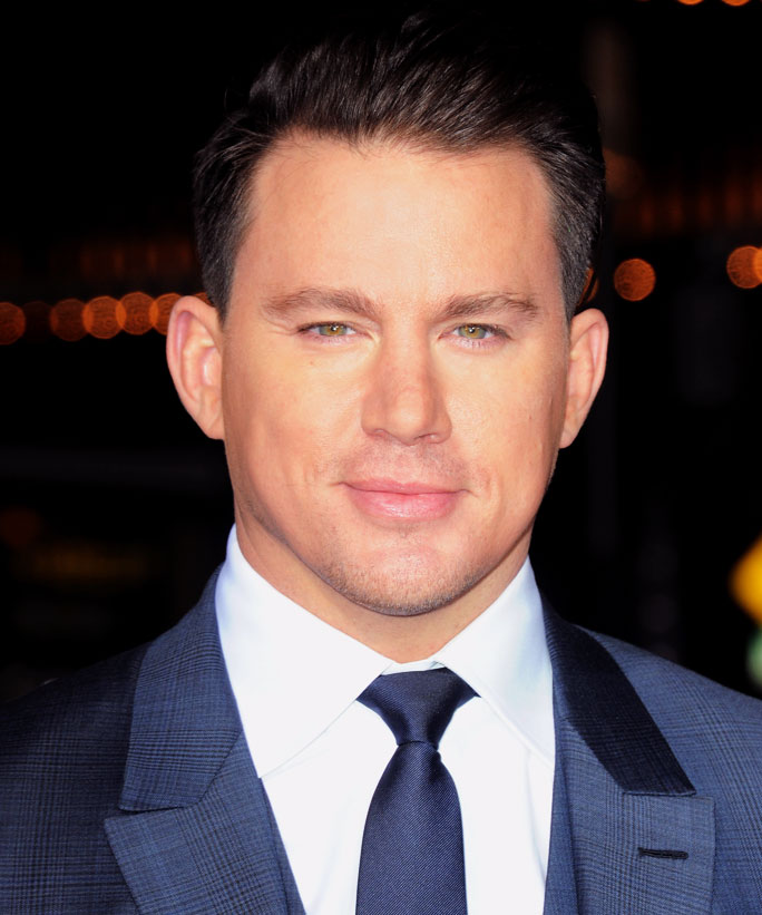 """WESTWOOD, CA - FEBRUARY 01:  Actor Channing Tatum arrives for the Premiere Of Universal Pictures' """"Hail, Caesar!"""" held at Regency Village Theatre on February 1, 2016 in Westwood, California.  (Photo by Albert L. Ortega/Getty Images)"""