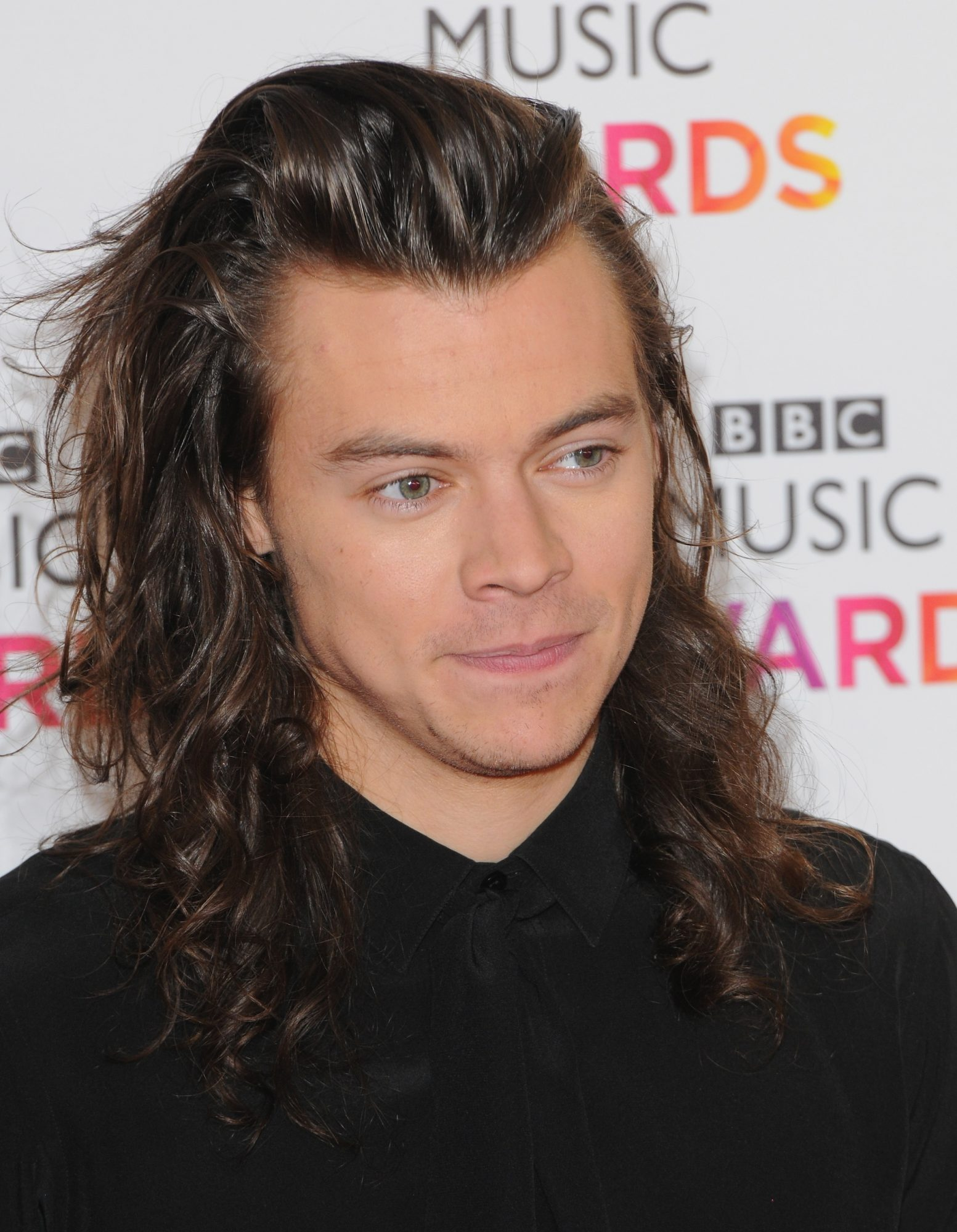 Harry Styles of One Direction attends the BBC Music Awards.